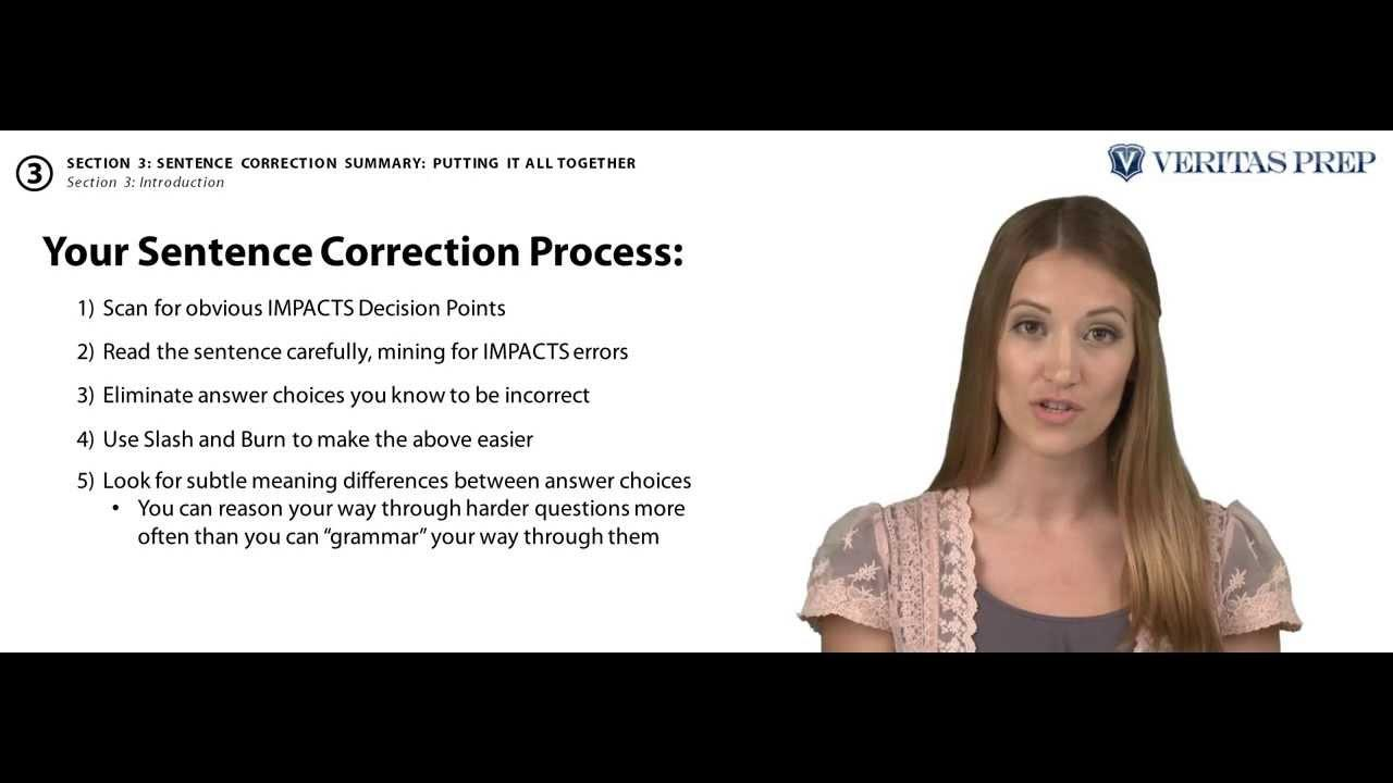 GMAT Tips: Sentence Correction Lesson