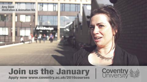 Life Changing Opportunities - Postgraduate study at Coventry University