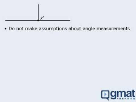 GMAT Math Lesson - Geometry - Assumptions and Estimation