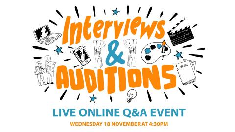Ask Northumbria Live Q&A - Interviews and Auditions