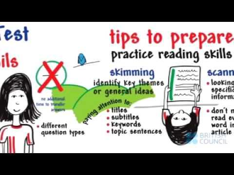 IELTS Reading-Top Tips from British Council