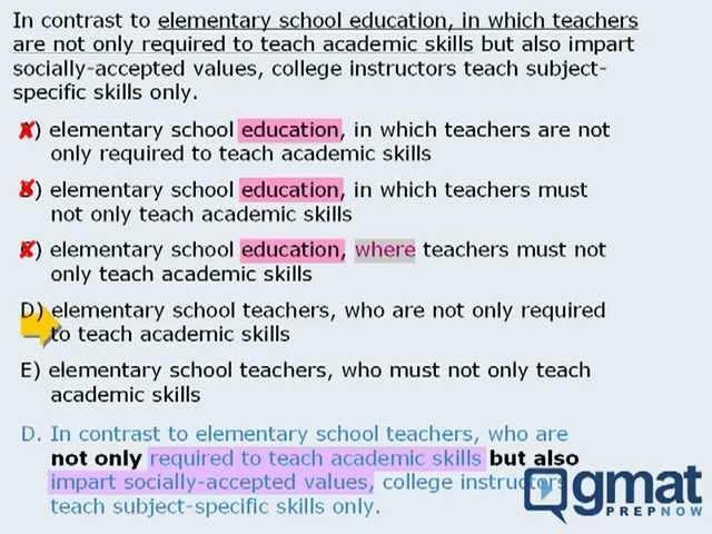 Correction of grammar sentences