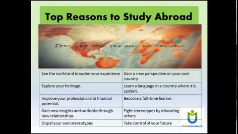 Top Reasons to Study Abroad | Is Study Abroad Worth It?
