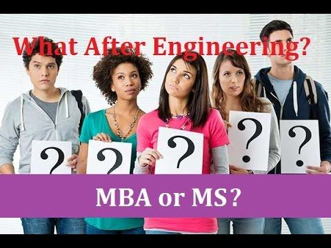 What After Engineering- MS or MBA? Options for Engineers Study Abroad