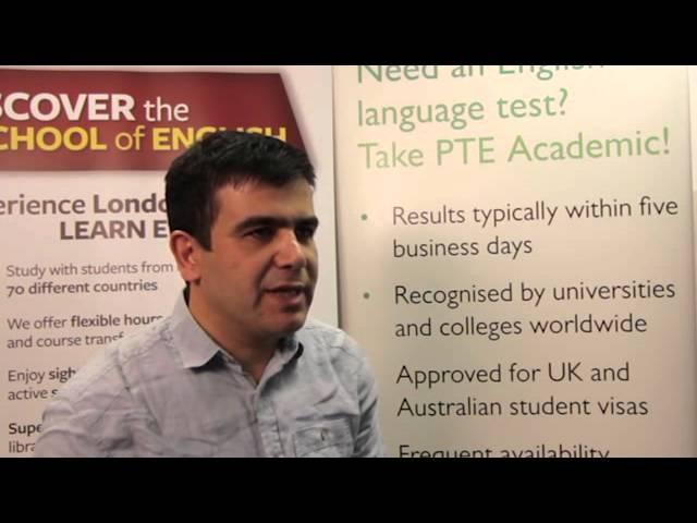 PTE Academic testimonial