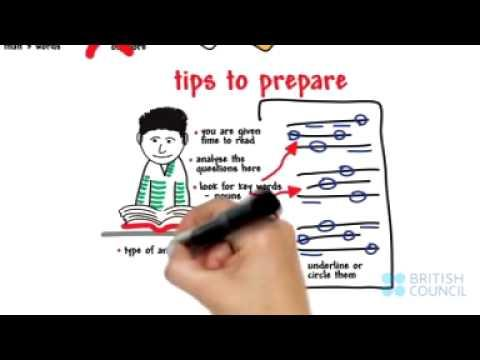 IELTS Listening-Top Tips from British Council